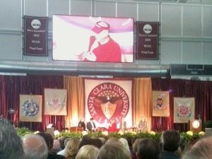 Dalai Lama at Santa Clara U.